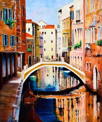 Michael Mcgrath Painting - Venice 9 by Michael McGrath