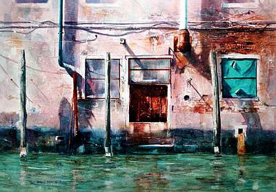 Painting - Venice Aftrenoon by David  Poxon