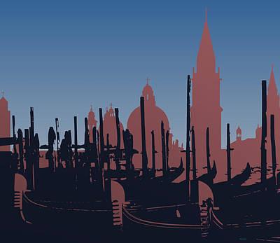 Composition Digital Art - Venice by Alberto  RuiZ