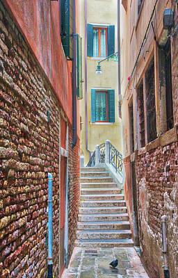Photograph - Venice Alley by Gary Slawsky