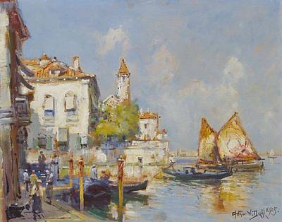 Guns Arms And Weapons - Venice by Arthur Vidal Diehl