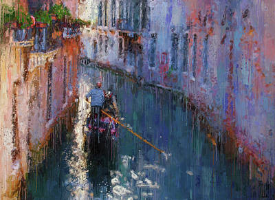 Digital Art - Venice At Glance by Yury Malkov