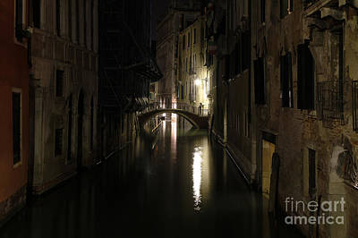 Photograph - Venice At Night by Dennis Hedberg