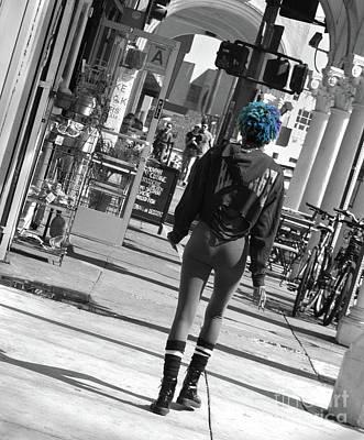 Photograph - Venice Attitude by Cheryl Del Toro