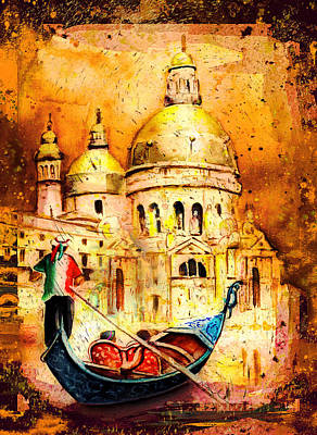 Painting - Venice Authentic Madness by Miki De Goodaboom