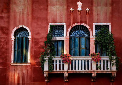 Photograph - Venice Balcony by Kathleen Scanlan