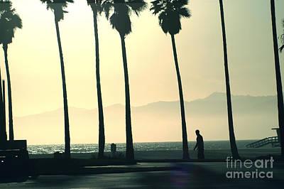 Venice Beach California Art Print by Micah May