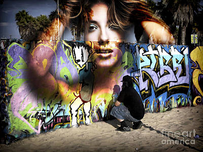 Photograph - Venice Beach Dreaming by John Rizzuto
