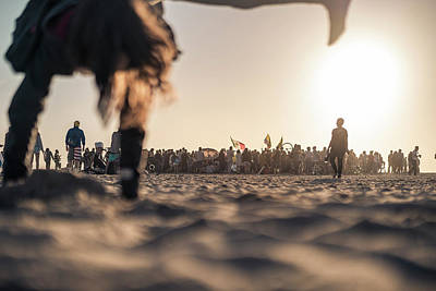 Photograph - Venice Beach Fun by Sebastien Chort