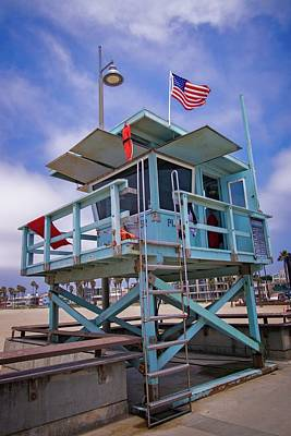 Photograph - Venice Beach Life Guard Station  by Lynn Bauer