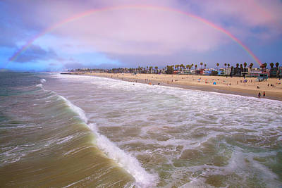 Photograph - Venice Beach Rainbow by Lynn Bauer