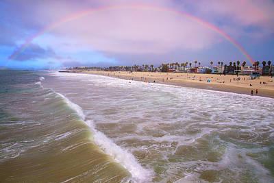 Photograph - Venice Beach Rainbow by Lynn Bauer