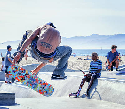 Photograph - Venice Beach Skater by Jason Butts