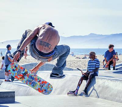 Venice Beach Skater Art Print