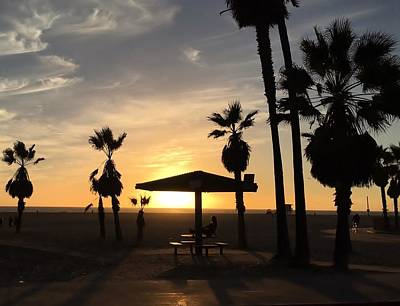 Photograph - Venice Beach by Vilma Zurc