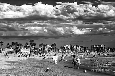 Photograph - Venice Beach Walk by John Rizzuto
