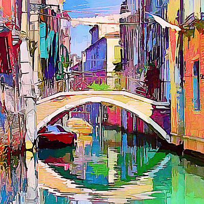 Digital Art - Venice Beautiful 14 by Yury Malkov