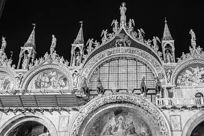 Photograph - Venice Black And White  by John McGraw