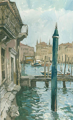 Painting - Venice. Blue Day by Igor Sakurov