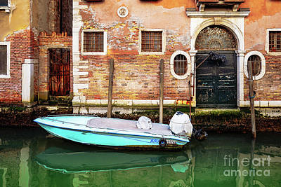 Photograph - Venice Boat House by Miles Whittingham