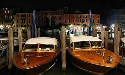 Photograph - Venice Boats 1 by Andrew Fare