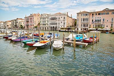 Photograph - Venice Boats by Sharon Jones