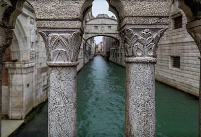 Photograph - Venice Bridge Of Sighs by Georgia Fowler