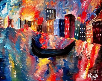 Venice By Night Original by Michael Grubb