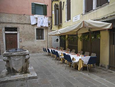 Venice Cafe 4482 Art Print