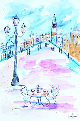 Painting - Venice Cafe by Shaina Stinard