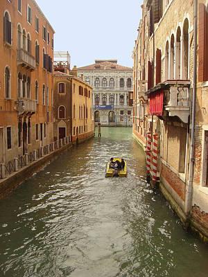 Photograph - Venice Canal 2 by Karen Zuk Rosenblatt