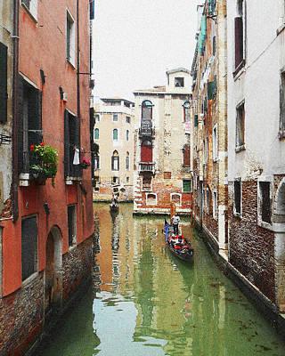 Painting - Venice Canal Colorful Italy by Irina Sztukowski
