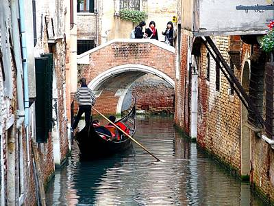 Photograph - Venice Canal by Diane Height