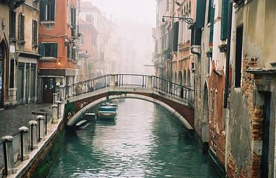 Venice Canal II Art Print by Kathy Schumann