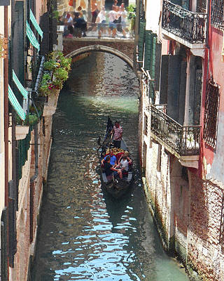 Photograph - Venice Canal Italian Beauty by Irina Sztukowski