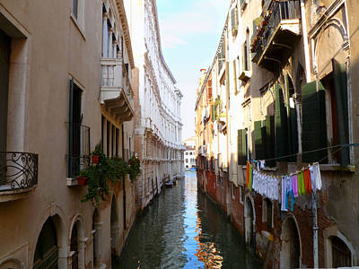 Photograph - Venice Canal by Katie Wing Vigil