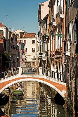 Photograph - Venice Canal by Kim Wilson