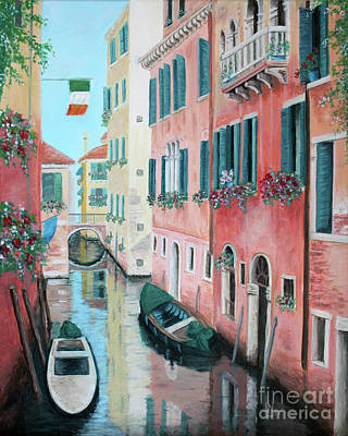Painting - Venice Canal by Lisa Norris