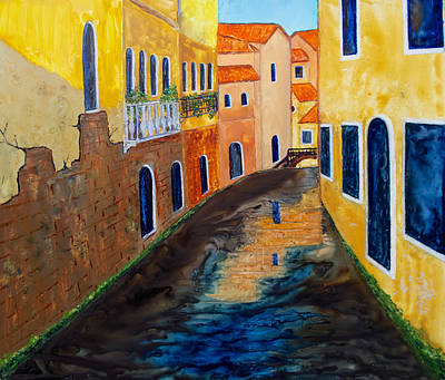 Painting - Venice Canal by Patricia Beebe