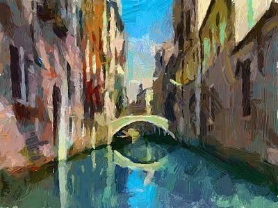 Venice Canals 02 Art Print by Yury Malkov