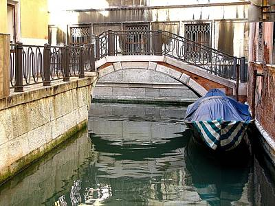 Photograph - Venice Canals by Diane Height