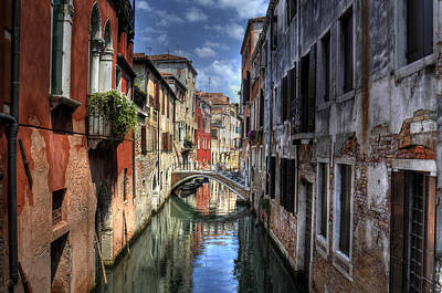 Photograph - Venice Canals by Don Wolf