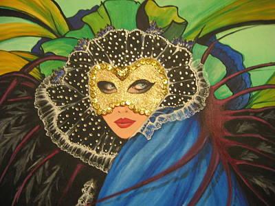 Venice Carnival 1 Art Print