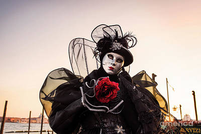 Photograph - Venice Carnival '17 by Yuri Santin