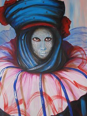 Venice Carnival 5 Art Print