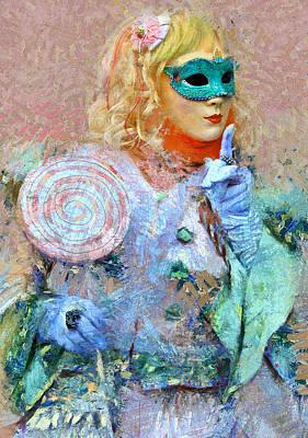 Venice Carnival 9 Art Print by Yury Malkov