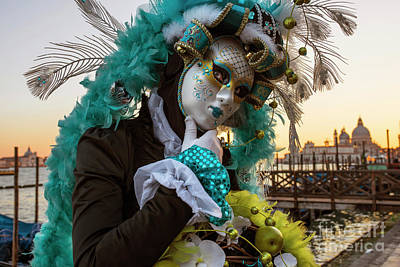 Photograph - Venice Carnival II '17 by Yuri Santin