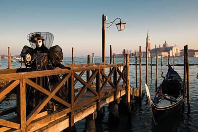 Photograph - Venice Carnival IIi '17 by Yuri Santin