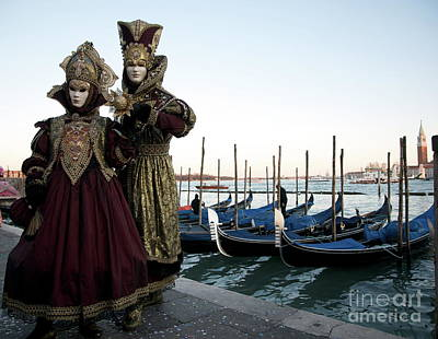 Photograph - Venice Carnival Ix by Louise Fahy