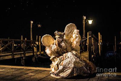 Photograph - Venice Carnival V '17 by Yuri Santin